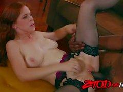 Redheaded Penny Pax Vs Siyah Cock