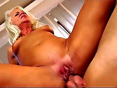 anal only granny's nasty creampie