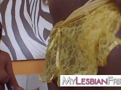 lesbiana interracial amateur real