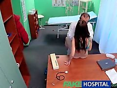 FakeHospital Sexy patient has a big surprise for the dirty doctor