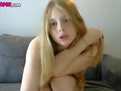 Blonde Russian shemale cute dick Cam