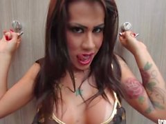 Brazilian Shemale PMV (Anitta - Show das Poderosas)