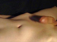 Jovem Man Handsfree ejaculatio
