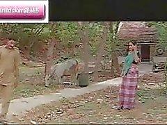 Classic filme mallu Índico peça Railway 1 dos Boobies agradável