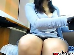 Fun at public library chat webcam