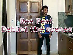 Bee Poses Sexily Showing Off His Asian Boy Feet