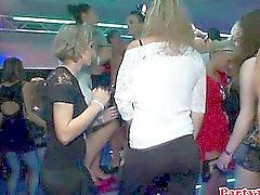 Euro amador rimming babe na pista de dança
