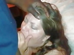 Hubby and the black guy told her to beg