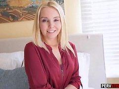 İyi stepson seks sonra azgın MILF üvey anne yapar