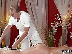 Della signora ceco creampied dopo massaggio