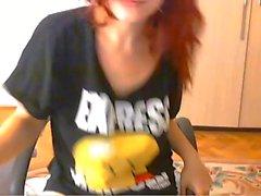Big Tits Redhead Cam Model
