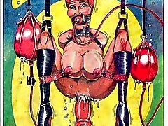 Bizarre Sex Orgy Comic BDSM