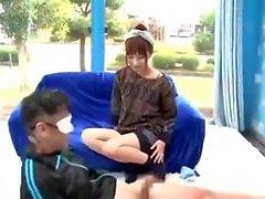 Amateur asiatische japanische Anal Creampie