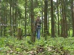 Chupada Oral aventura de en el bosque de