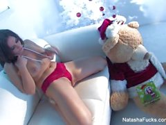 Natasha Nice Horny Holiday Thief