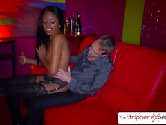The Stripper Experience - Anya Ivy is punished by a big dick, big booty