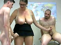 Wanking Two Guys BVR