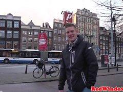 Sextourist verdadera explosión BBW Hooker en Amsterdam