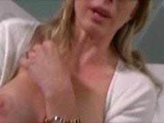 Blonde Milf ricattato Mangiare & Ass cazzo - Cory Chase Bad Sponsor