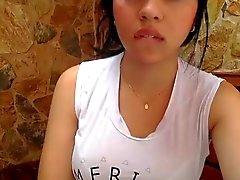 Kuumat Latina teini Michelle Webcam Show 1.