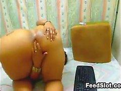 Amatör abanoz webcam kız arkadaşı masturbat web kamerası