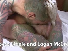 Las Vegas'ta Rocco Steele ve Logan McCree
