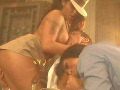 Jenaveve Jolie in FFM threesome
