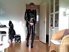 Hanım evladı En sevdiğim Sexy Deriler kıyafeti