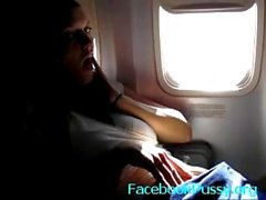 Airplane fidanzata masturbazione - youtubepussy