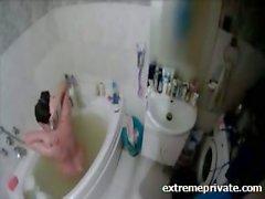 Banyoda gizli kam Annem habersiz