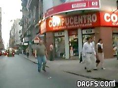 Аргентина : Пол в городе Лос collectivos