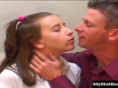 Келли Клайна это шлюха которая обожает взятие необработанных Дикс выше ей ...