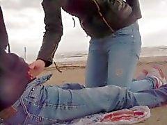 delle Seghe e pompini in spiaggia da sessodammi