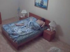 Asian Kazakh Girl & Russian Guy Amateur Homemade Interracial