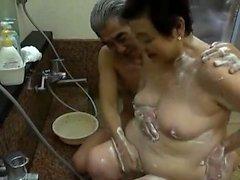 Asyalı japon anal play olgun
