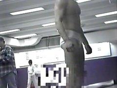 Real Male Hidden Spy Camera College Wrestlers Locker Room Shower Part 2