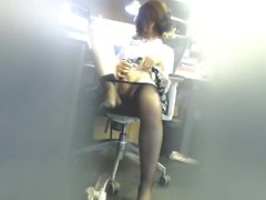 Secret Asian Playing At Work