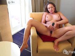 Big Titted Yanks Yasmin Toys Her Twat