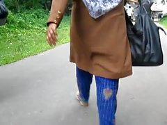 Bangladeshi women from behind
