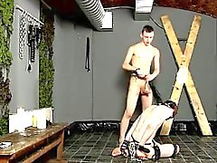 Nude men Cody Gets A Lesson In Sucking