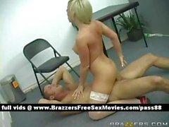 Superb голые блондинки в офисе попадает ее киска трахал