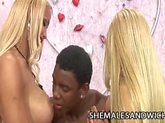 Dartilly Richilielly & Leona Andrev trois Interracial