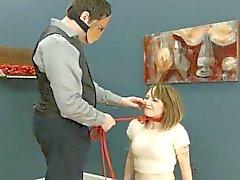 A la gran parte de la cuerda y el erotica extremo sumisión de BDSM