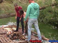 Movimentar-se adolescente holandês Jizzed