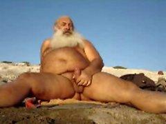 Fett griechisch Papi Strand