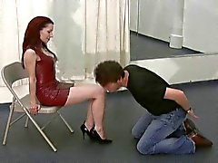 Ball busting mistress Jynx