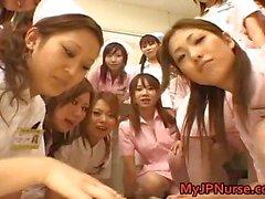 Aasian sairaanhoitajat nauttia seksistä päälle Osa 6