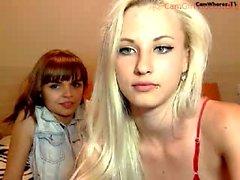 Redhead e Louro lésbica 69 e Cum
