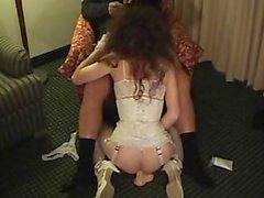 Simatra Crossdresser panties Service client for Blowjob Fuck And Facial