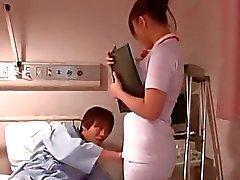 Enfermeira Japão atraente